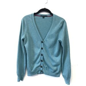 Boden Turquoise Blue Cardigan